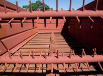 Vagón descarga lateral - Modelo 17 m³